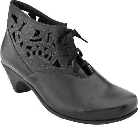 Naot Daring (Black Madras Leather)