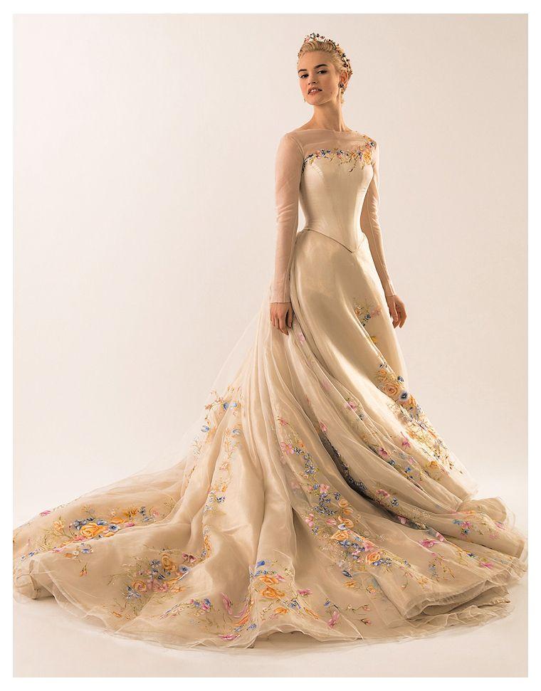 The Frog S Nail Cinderella 2015 Disney Wedding Dresses Wedding Dresses Cinderella Gowns