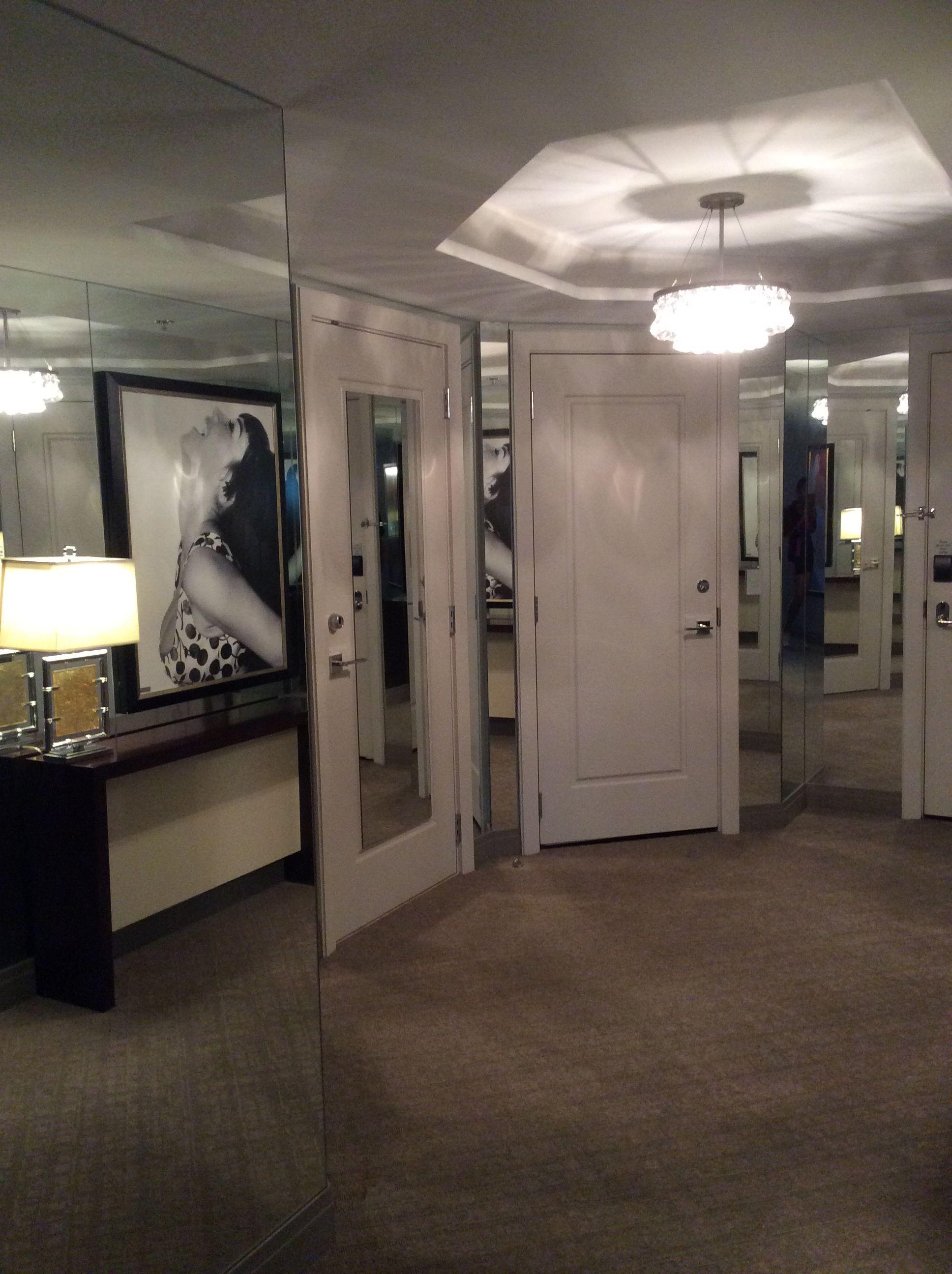 Las Vegas Cosmopolitan wrap around suite.....the entrance