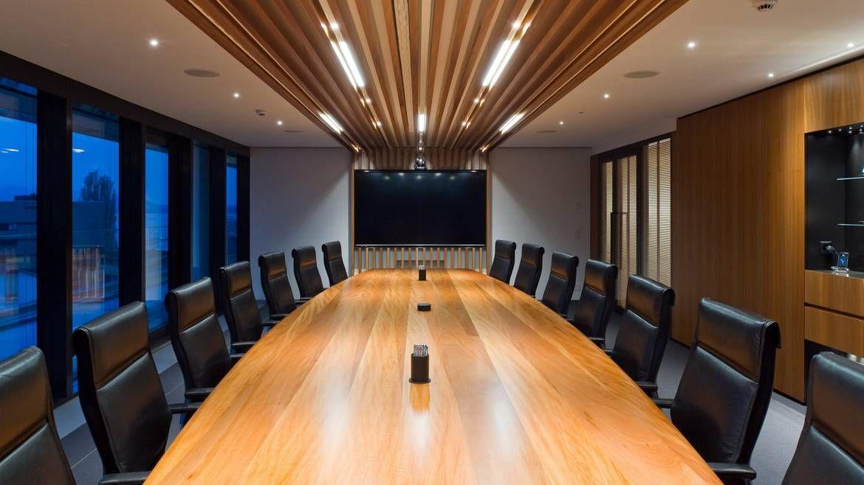 investmentgesellschaft - hauptsitz, zug. entwicklung und umsetzung, Innenarchitektur ideen