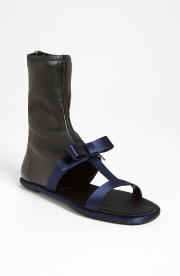 0496be17097 What kind of prat is going to pay  950 for this ugly shoe  Prada Stretch  Sandal