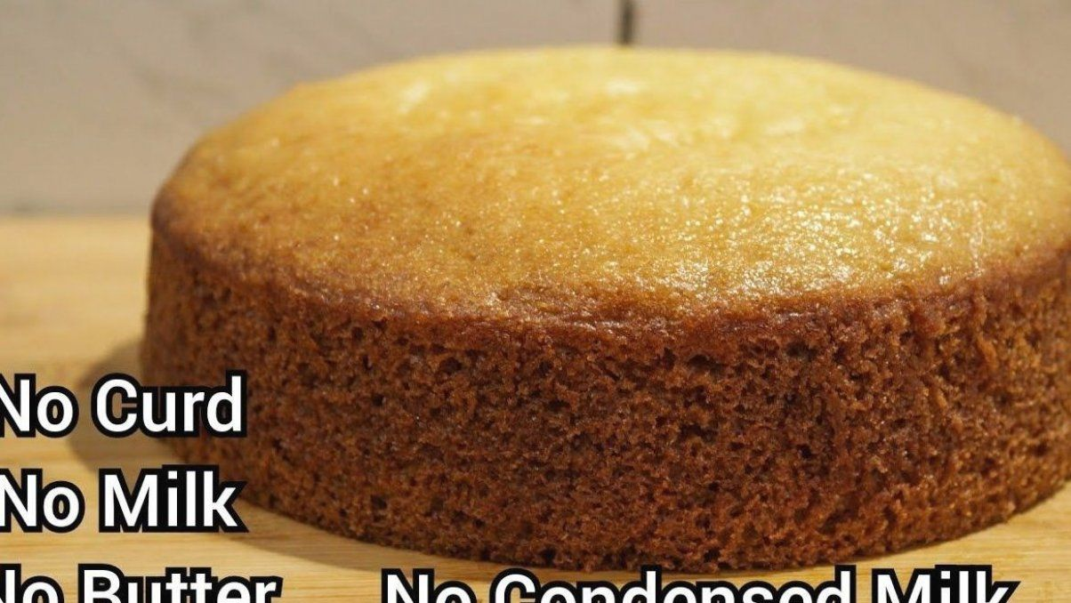 Eggless Vanilla Sponge Cake Recipe Without Oven Curd Butter Milk Condensed Milk Buttermilk Y In 2020 Cake Recipes Without Oven Cake Recipes Sponge Cake Recipes