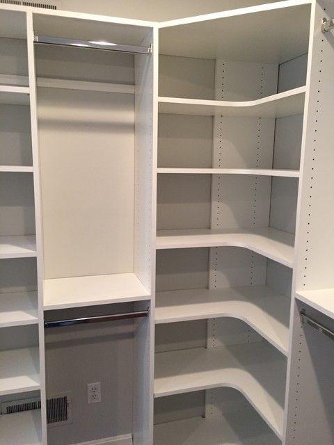 Corner Closet Shelf Unit Fantasy Organizer Bossandsons Com Pertaining To 1 Closet Layout Closet Renovation Closet Makeover