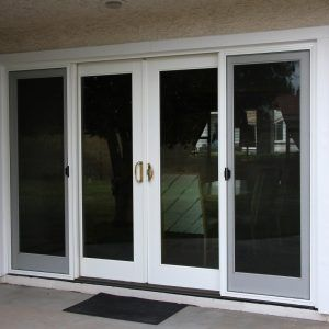 Superieur Center Opening Sliding Glass Patio Doors