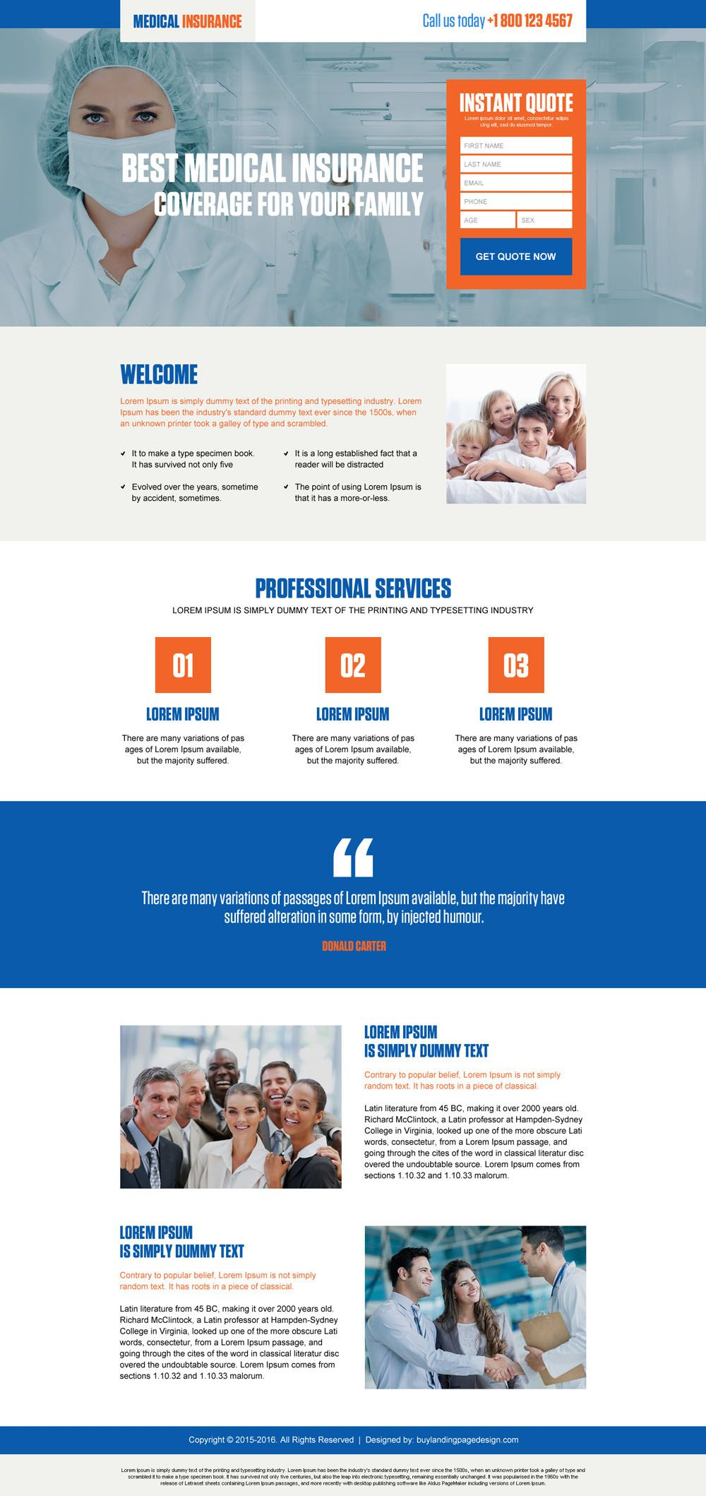 best medical insurance coverage for family lead