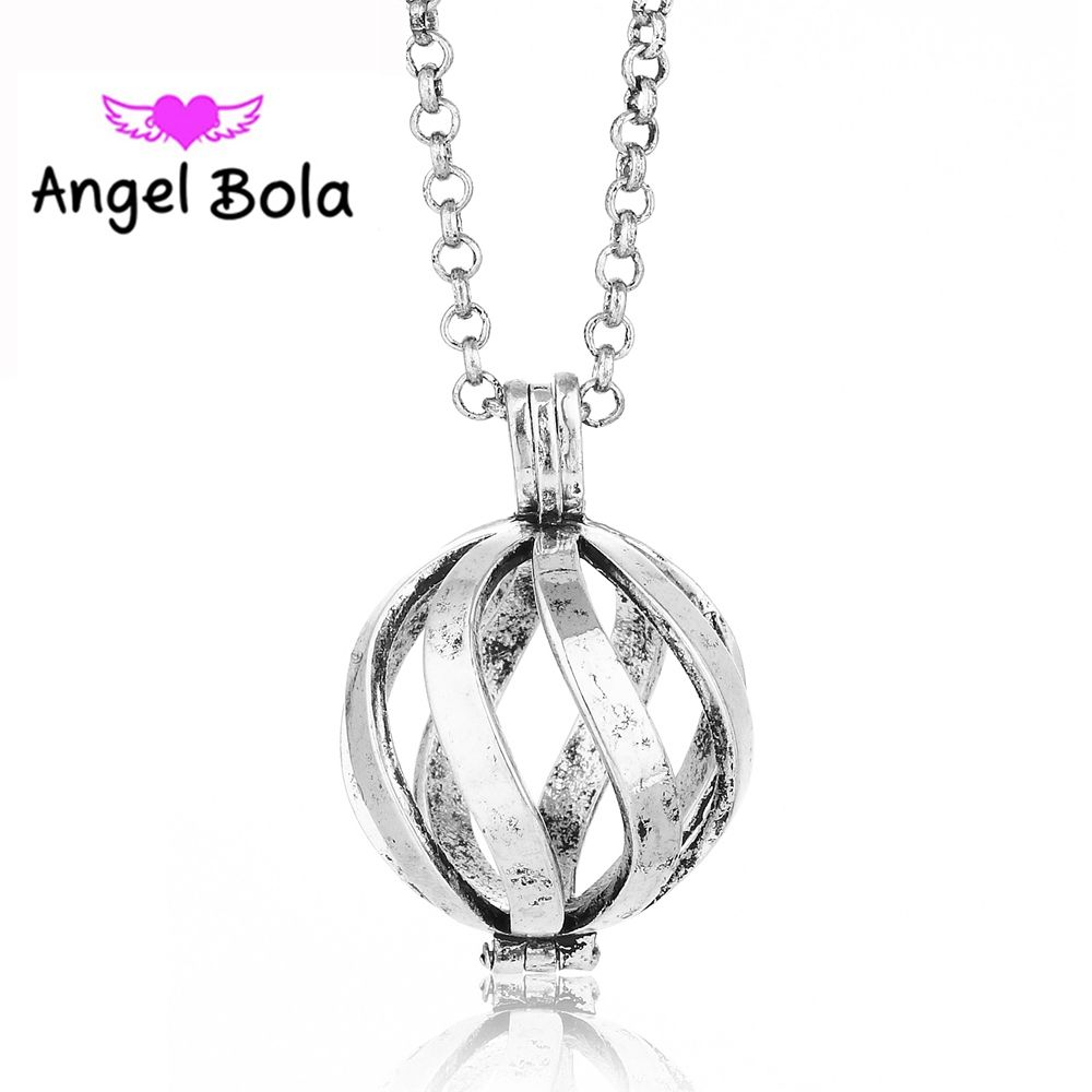 205mm hollow diy harmony chime aroma pendants angel bola sound 205mm hollow diy harmony chime aroma pendants angel bola sound ball women perfume necklace long aloadofball Gallery