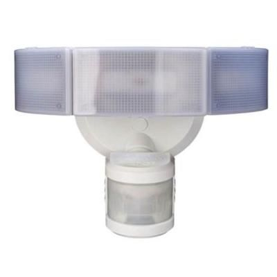 Outdoor Led Motion Lights Fascinating Null 270 Degree 3Head White Led Motion Outdoor Security Light Design Decoration