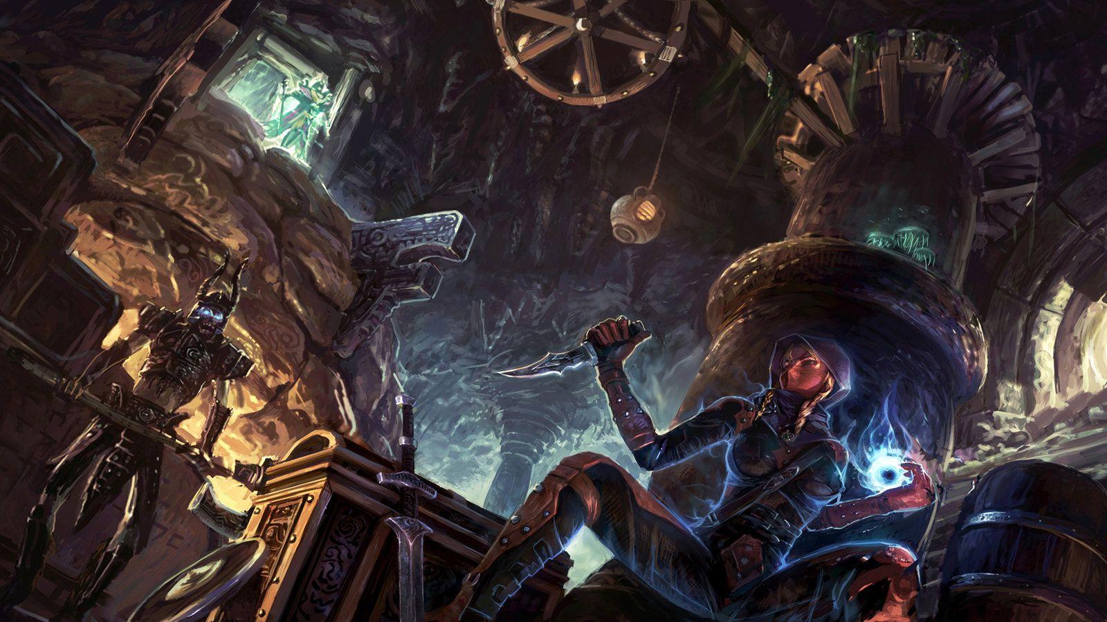 The Elder Scrolls 5 By Jianlu Deviantart Com On Deviantart