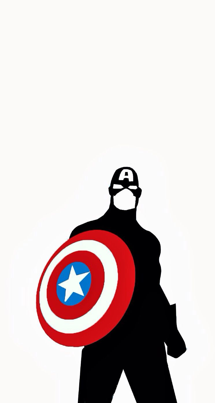 Captain America Iphone5 Wallpaper With Images Captain
