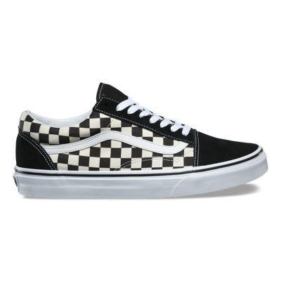 Vans shoes old skool, Vans checkered