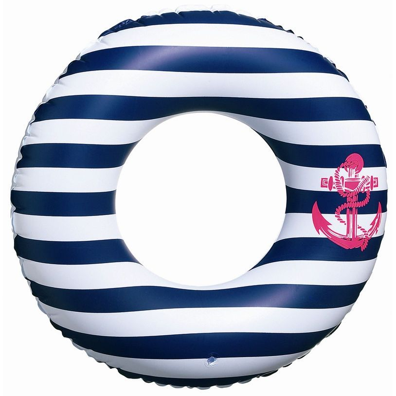 Girly Navy White And Hot Pink Floaty Stripes Anchor Pool Pinterest