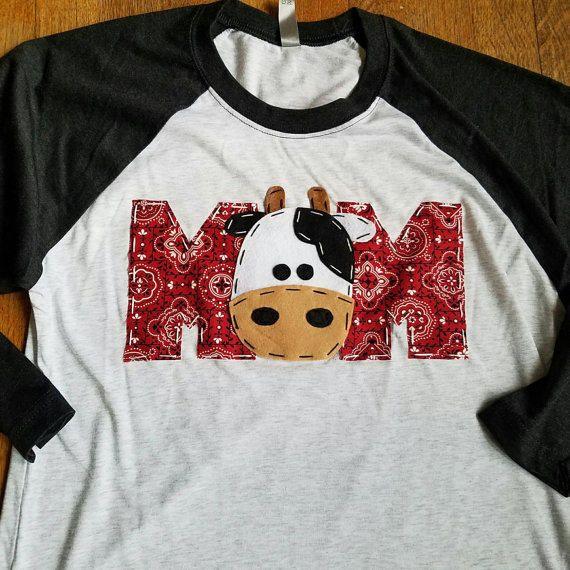 Mom Barnyard Birthday Shirt Dad Two Cow 2nd T Barn Yard Farm Theme Boy White