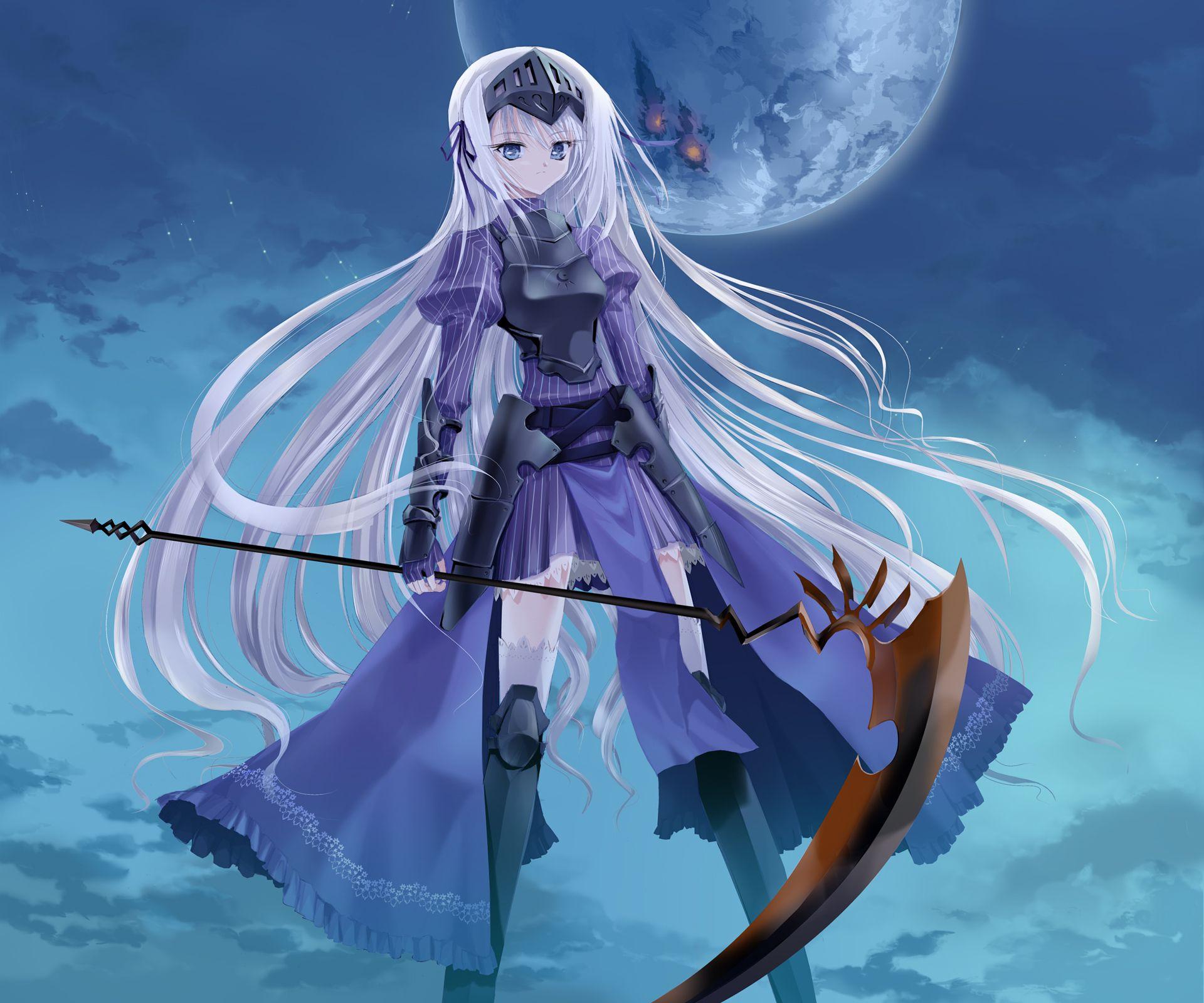anime girl scythe Google Search Anime girl scythe
