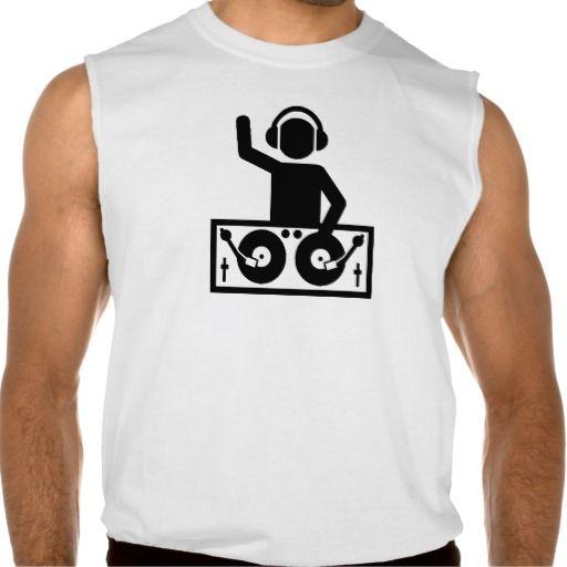 DJ Turntables Sleeveless Shirts Tank Tops