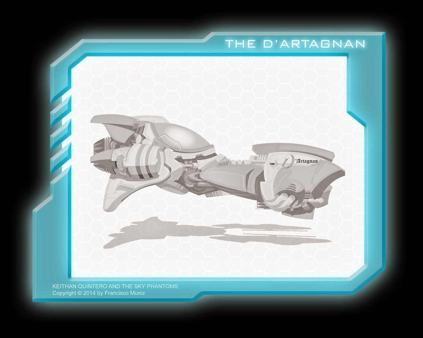 The D'Artaganan racing aircraft: Keithan Quintero and the Sky Phantoms