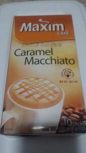 Maxim Caramel Macchiato 130g X 2 Packs Caramel Macchiato Macchiato Caramel