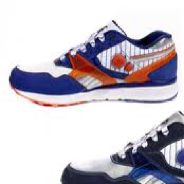 Actual New York Mets sneakers. Love