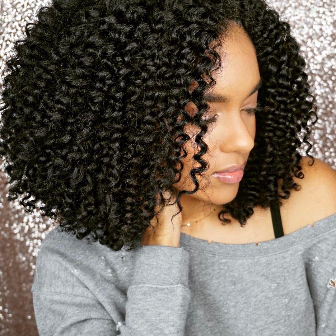 natural hair twist routine