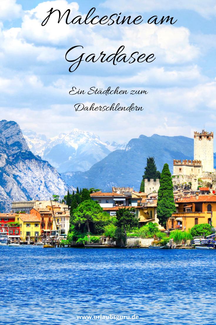 Bunte Häuser, blühende Blumen und eine Burg, die schon Johann Wolfgang von Goethe inspirierte. Das ist die Stadt Malcesine am italienischen Gardasee. Ihre Schönheit verzaubert nicht nur Dichter und Denker, sondern auch viele Urlauber, die die Perle des Gardasees, wie Malcesine auch genannt wird, jedes Jahr besuchen, um die Dolce Vita zu genießen.