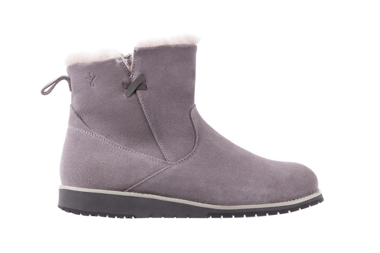Emu Beach Mini Dove Grey 18 Jasnoszare Sniegowce Emu Australia Zapinane Na Zamek Wyrozniaja Sie Wyjatkowo Zgrabnym Ksztaltem Buty Oci Boots Ugg Boots Shoes