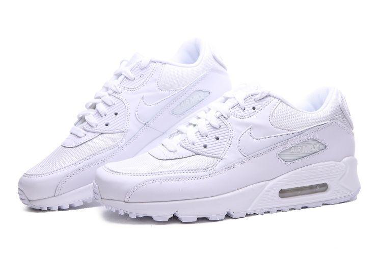 sale retailer 49b68 dd100 Nike Air Max 90 All White