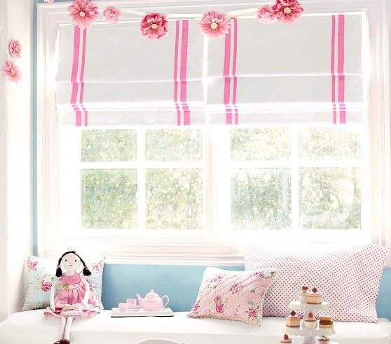 Harper Blackout Cordless Roman Shade | Pottery Barn Kids | Ely's ...