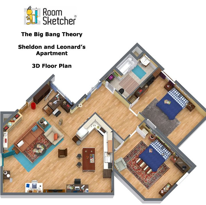 Pin Em The Big Bang Theory