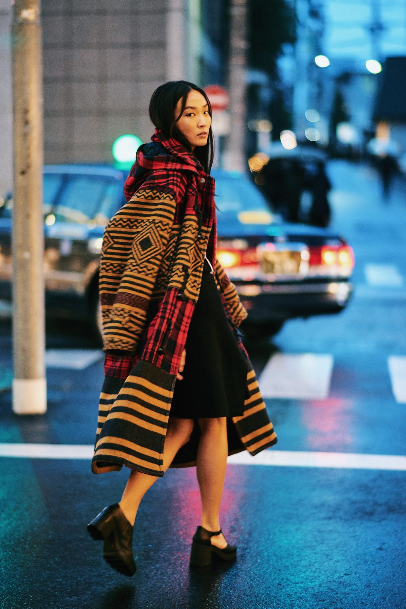 Como Ser Indie Stunning street fashion / japan   style   pinterest   trench-coats, rayures