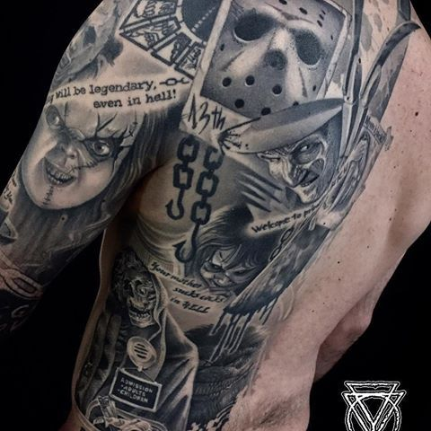 Clod The Ripper Tattoo With Images Movie Tattoos Best Sleeve