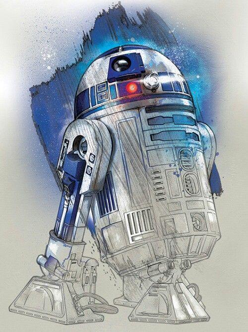 Star Wars R2 D2 Star Wars Artwork Star Wars Poster Star Wars Art