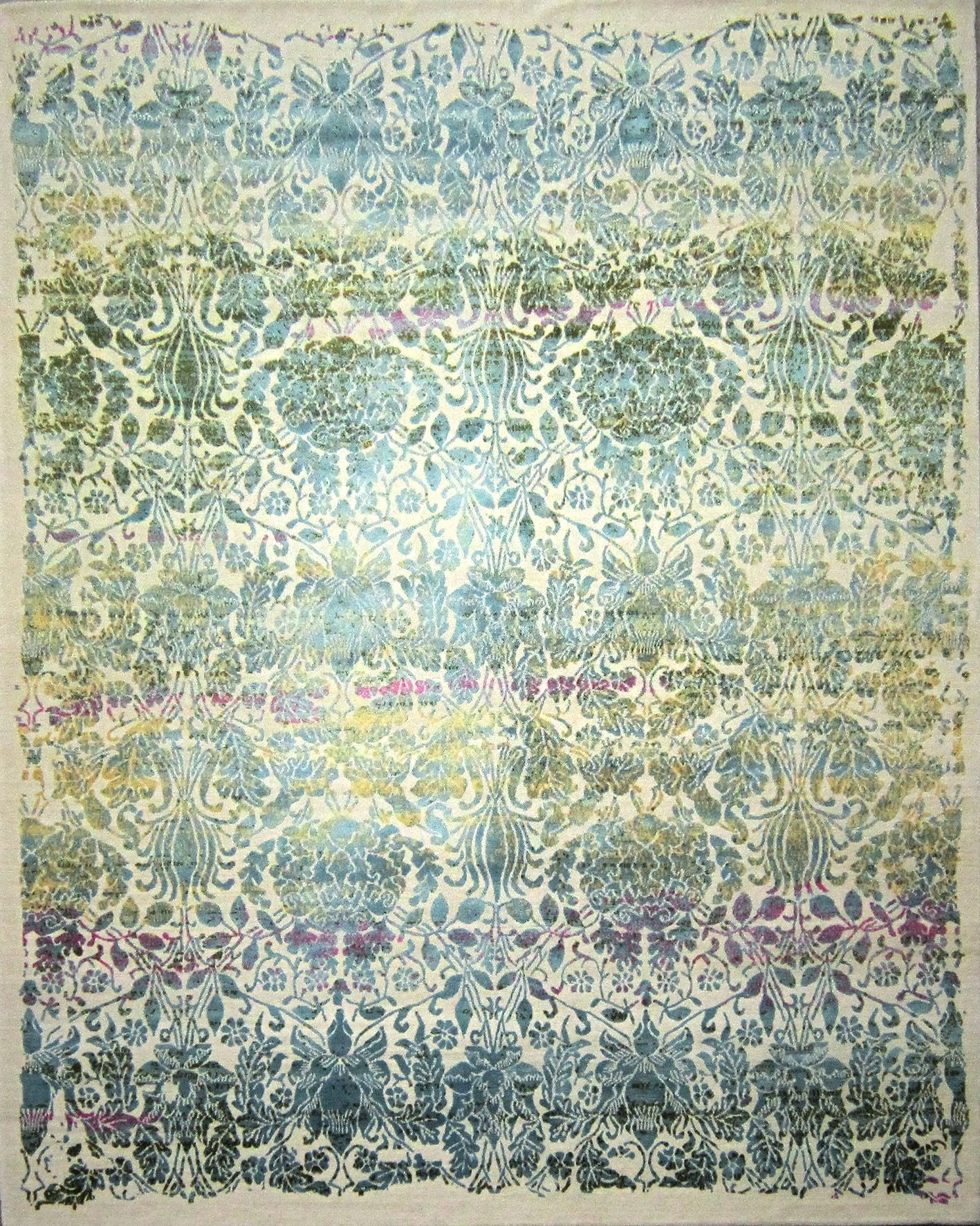 Collection Landhaus Teppich Hand Knotted Rug Silk And Wool I037782 Inspiration