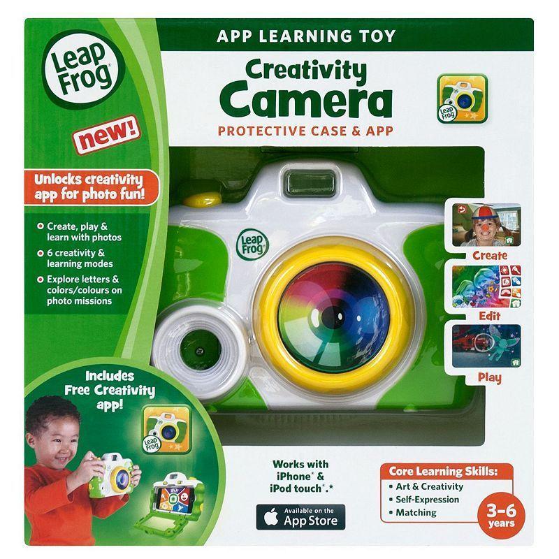 LeapFrog Creativity Camera Protective Case & App Green
