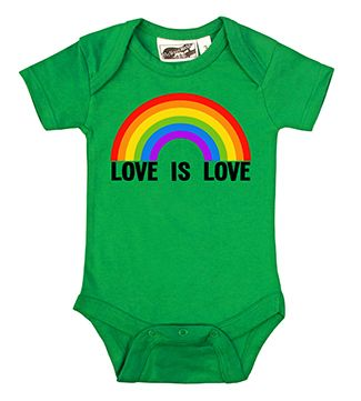 Love Is Love LGBT Marriage Equality Infant One Piece Bodysuit