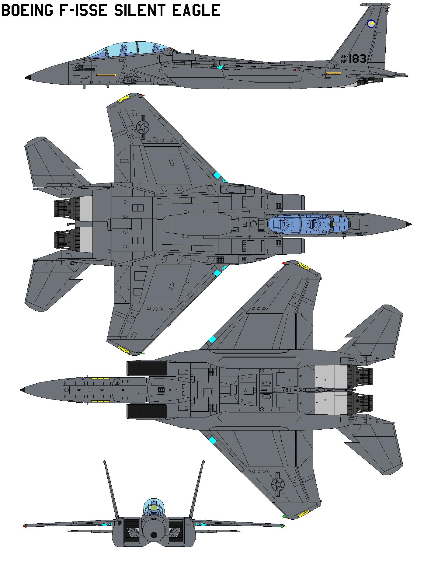 Boeing F-15SE Silent Eagle by bagera3005.deviantart.com on @DeviantArt