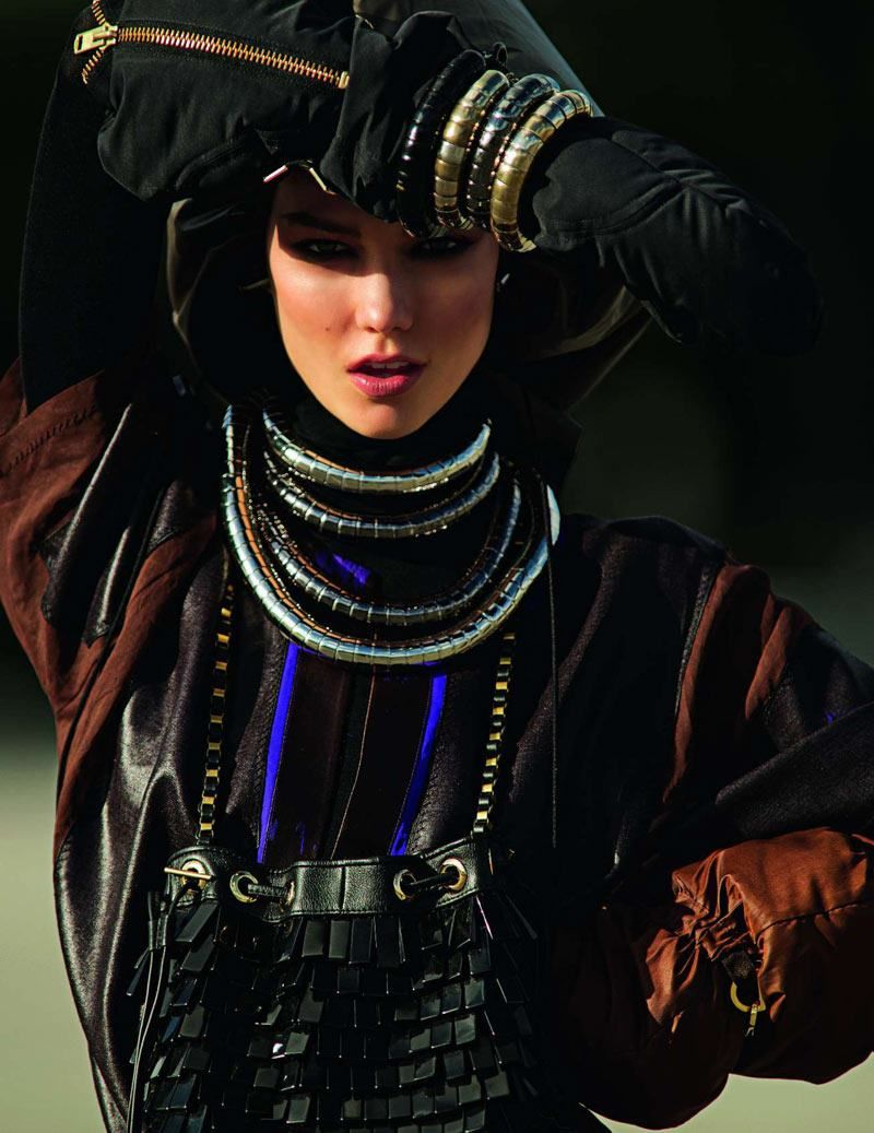 Karlie Kloss | Photography by Hans Feurer | For Vogue Paris | March 2012
