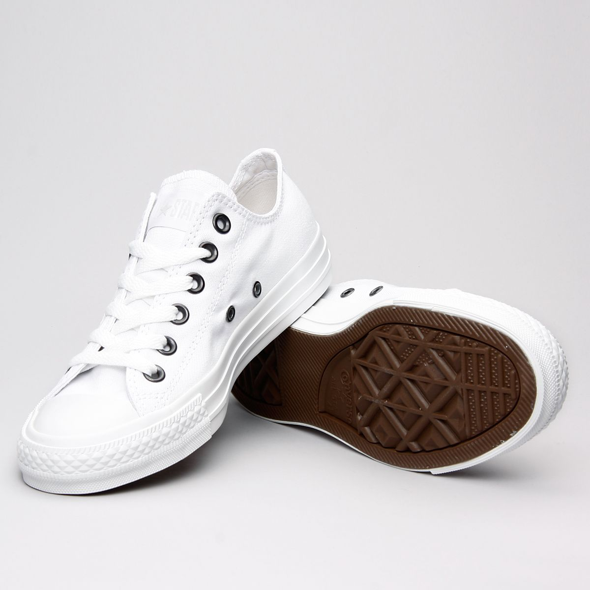 First Uncertain Berri  Converse As Ox White Monochrome 1U647 - Karltex | Converse, Monochrome,  Baby shoes