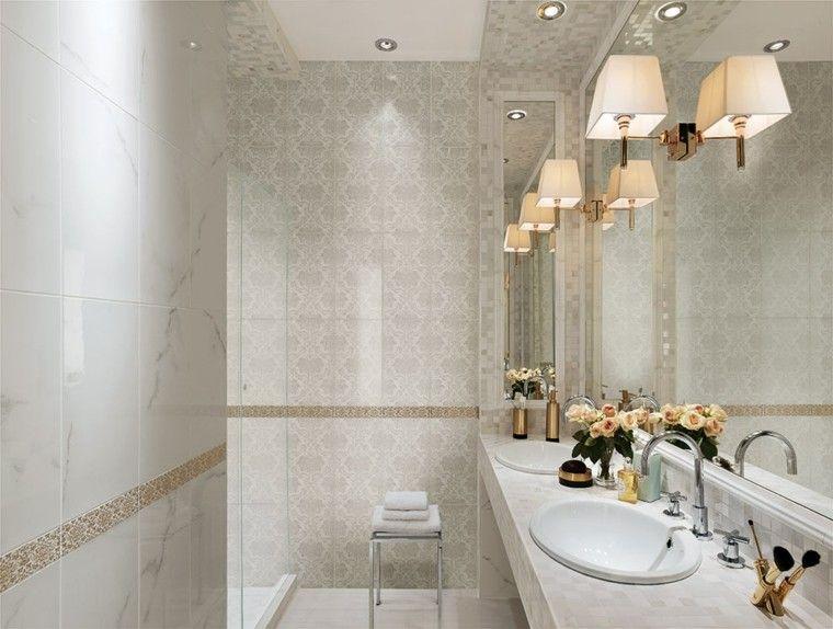 Azulejos para ba os modernos cien ideas geniales ba os for Azulejos de cuarto de bano modernos