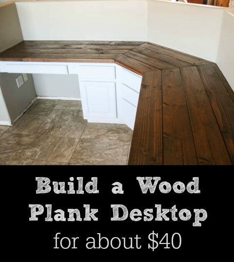 Photo of Build a Wood Plank Desktop for About $40