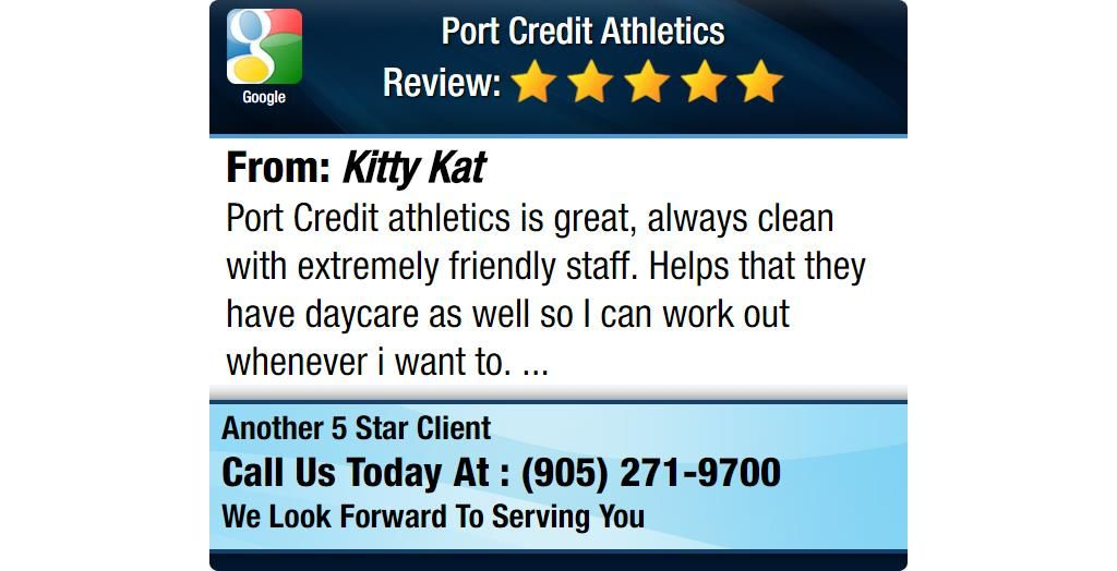 Port Credit Athletics Is Great Always Clean With Extremely