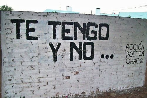 Me encanta... Acción poética Chaco