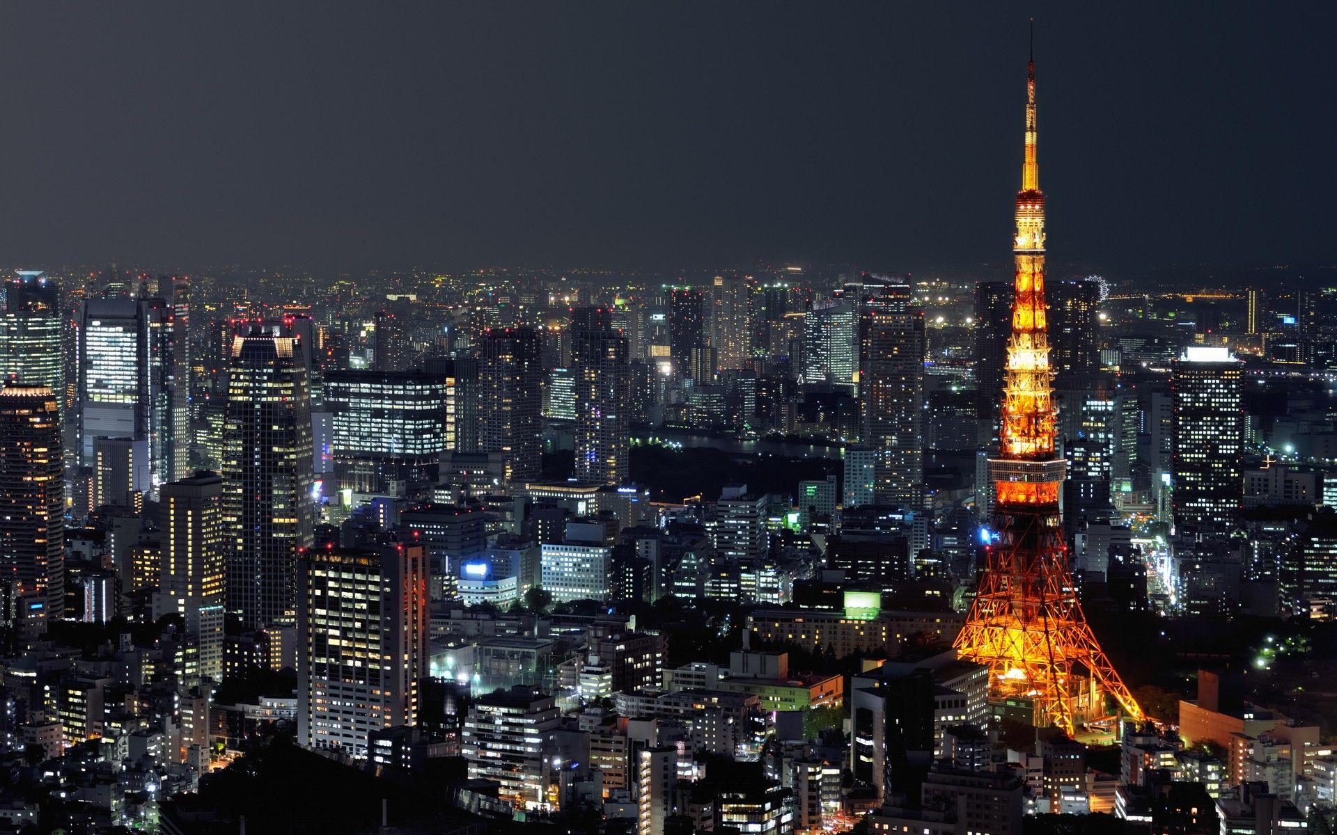 Tokyo Wallpaper Full Hd Landscape Wallpapers Pinterest
