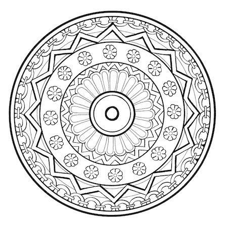 Relieve Daily Stresses With Beautiful Free Mandala Coloring Pages Mandala Kreativne Remesla