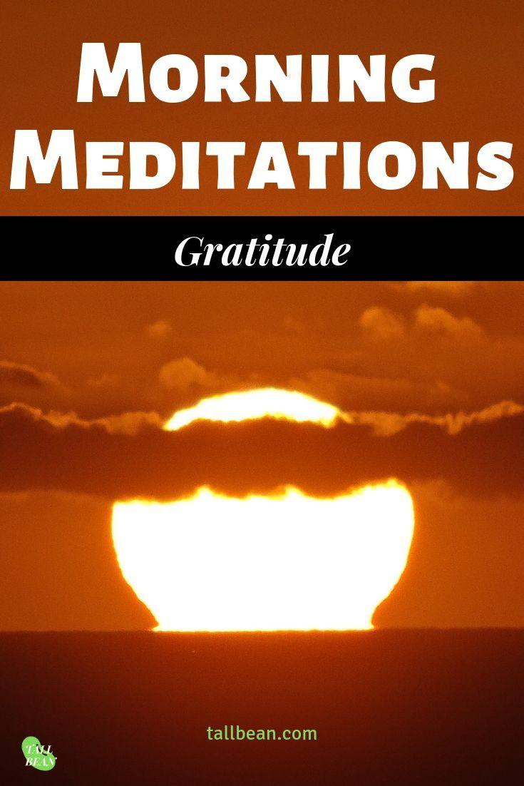 Gratitude Meditation - Tall Bean - A Guided Reflection ...