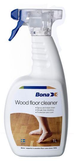 Bona Wood Floor Cleaner Spray 1l Cleaners Amp Polishers