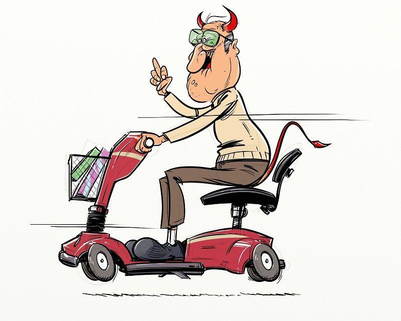 Speed Demon 2014 Speed Demon Cartoon Oldman Elderly
