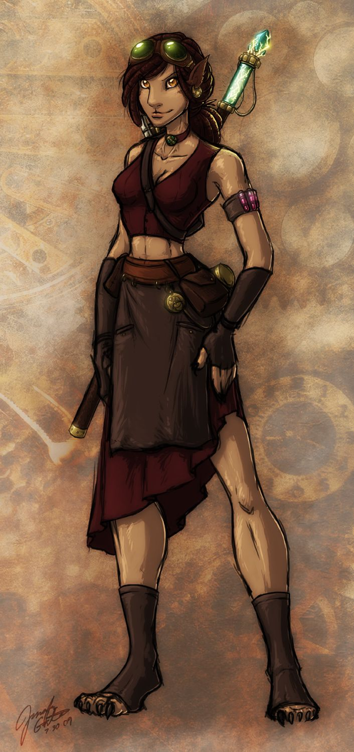 Eberron Artificer By Evion On Deviantart Characters Elves