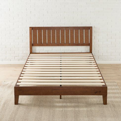 Shaunte Solid Wood Platform Bed Headboards For Beds Wood Platform Bed Wood Bed Frame