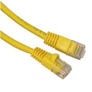 Ultra Spec Cables 50ft Cat6 Ethernet Network Cable Yellow