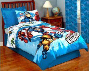 Delightful Marvel Superhero Squad Full Comforter Sheets Bedding NEW