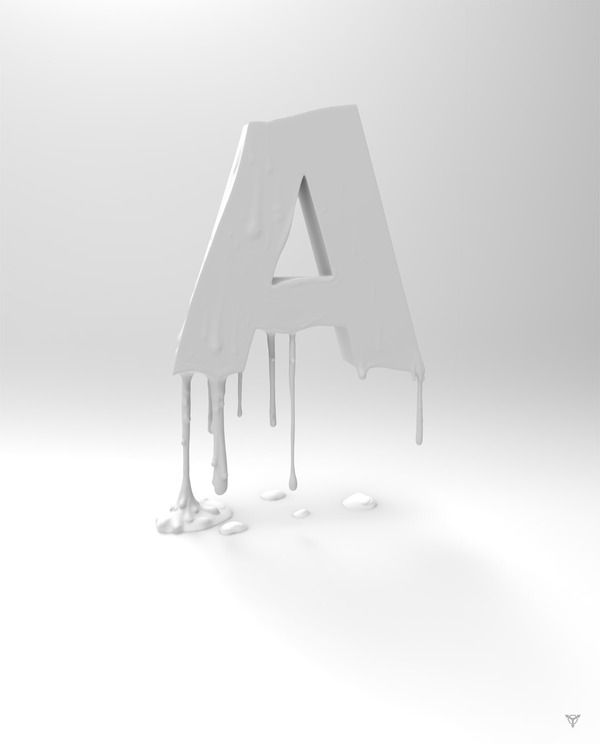 Melted Typography